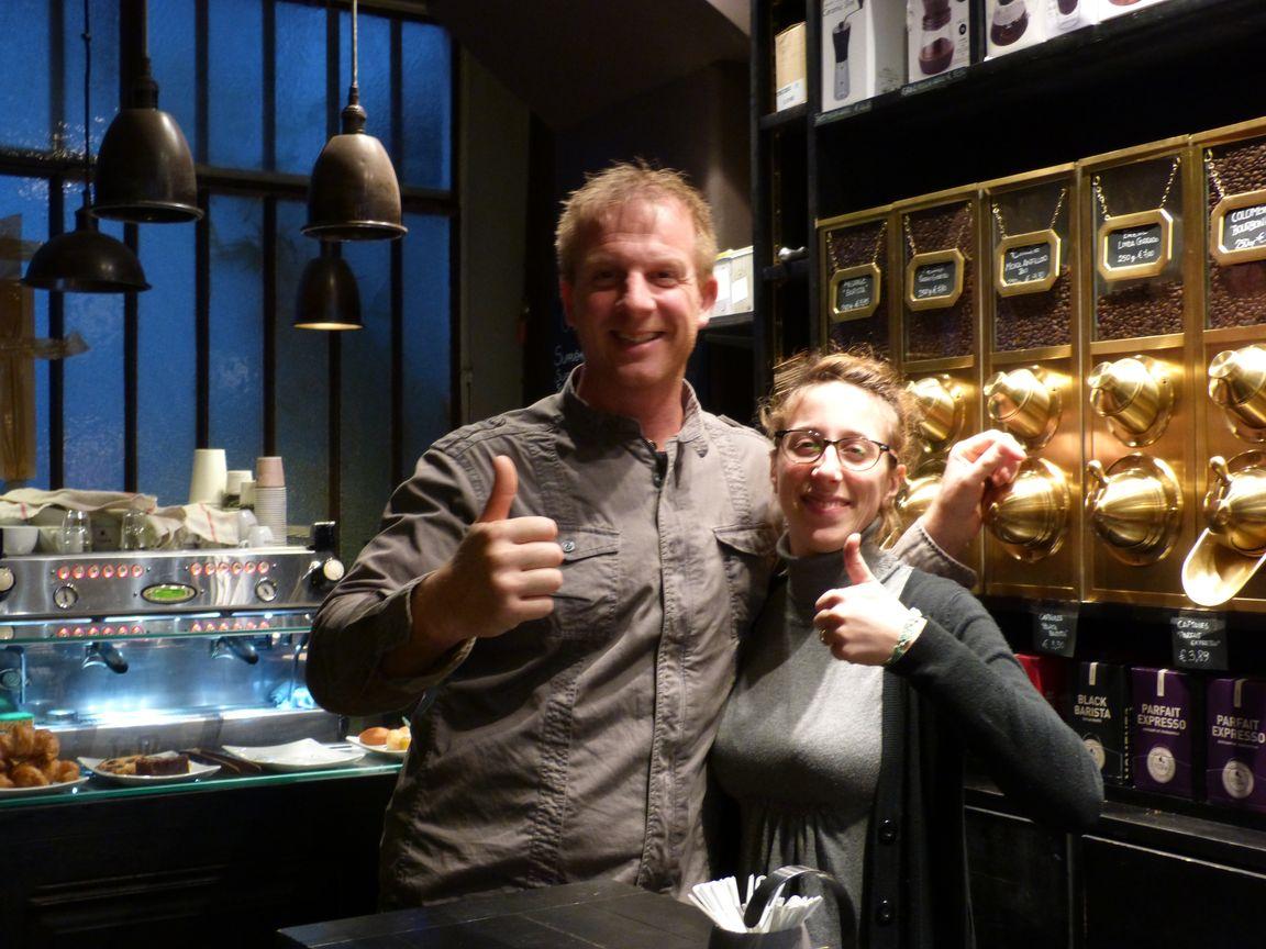Donde tomar un buen café Barista Guido y Chiara