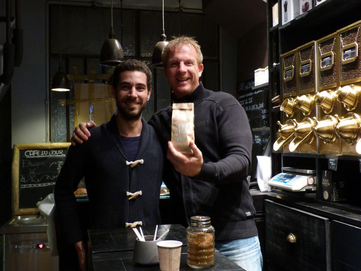 Donde tomar un buen café Barista Guido y Laurent