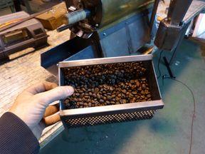 Tostador de café prototipo