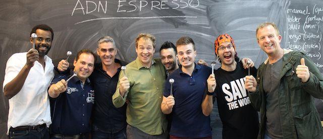 Master class de espresso con Barista Kim