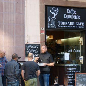 Barista Guido Show tueste en la calle www.tornadocafe.es