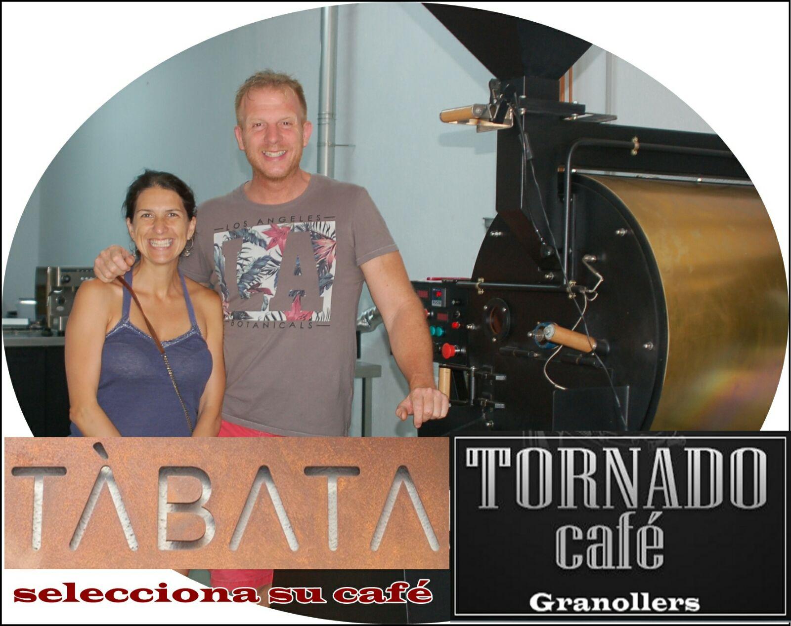 Tornado Café y Tàbata owner www.tornadocafe.es