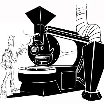 el mejor café va con jaro el mejor dibujante de comics www.tornadocafe.es