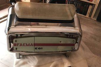Faema E61 www.tornadocafe.es