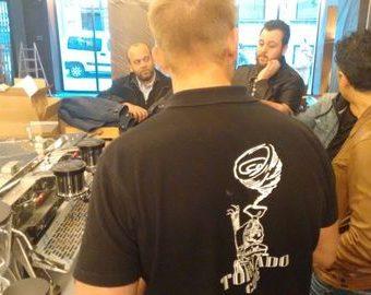 Tornado café y la formación de Spirit Duette www.tornadocafe.es